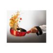3 részes Burgundy Metál Tészta szűrős edénykészlet