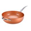Copper Pro wok 30 cm