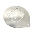 Hello Kitty kávédíszítő sablon