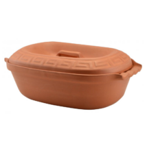 Agyag római tál ( 5 liter)