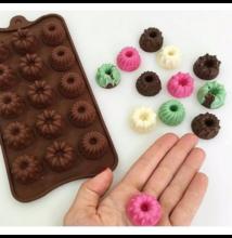 Minikuglóf bonbon forma