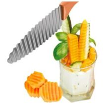 Deko Food hullámos dekor kés 21.5 cm