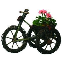 Bicikli virágtartó nagy sötét