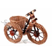 Bicikli virágtartó világos 62cm
