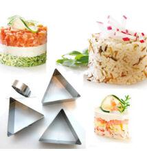 Háromszög ételformázó