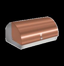 Rosegold kenyértartó doboz metál külső bevonattal