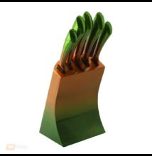Metál zöld Késkészlet