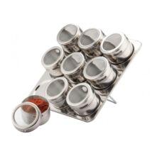 Mágneses fűszertartó 10 részes