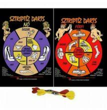Sztriptíz darts játék