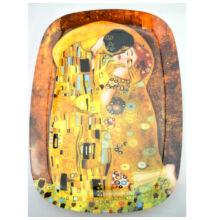 Klimt szögletes üvegtál