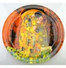 Klimt Üvegtányér 37,5 cm