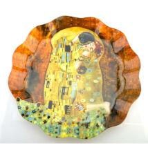 Klimt üvegtányér
