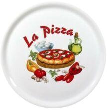 Kerámia pizzatányér 30 cm (4 választható minta)