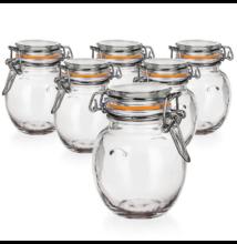 LINA csatos üveg szett ( 6 db)
