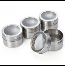 Ablakos fűszertartó 3 db (mágneses)