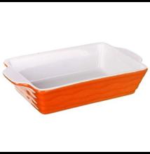 Orange kerámia sütőtál 24 cm x 15 cm