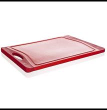 Piros vágódeszka 29 cm x 19,5 cm