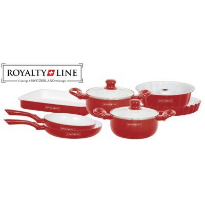 Royalty line  kerámia bevonatos edény és sütőtál készlet 9 részes