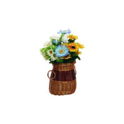 Ovális asztali váza 21 cm