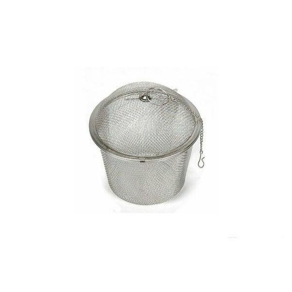 Rozsdamentes fűszerlabda 6.5cm-es