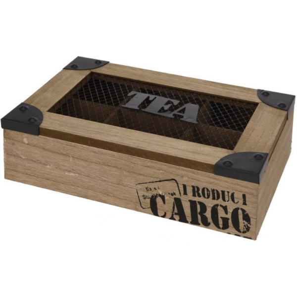 Teafilter box 25x17x6.8cm ( Cargo)
