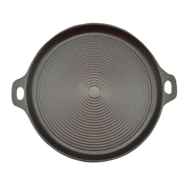 Öntöttvas grill serpenyő 32.5cm