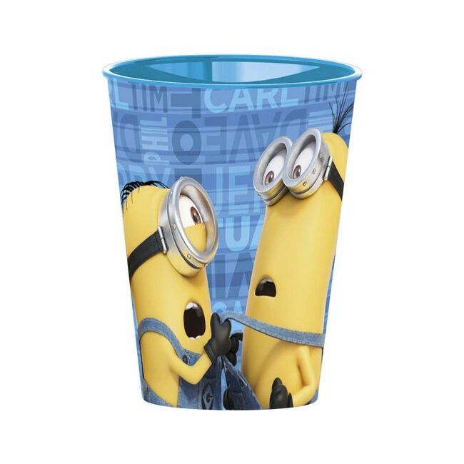 Műanyag pohár Minions 260ml