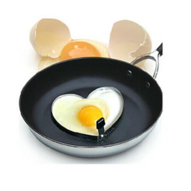 Tükörtojás formázó szív