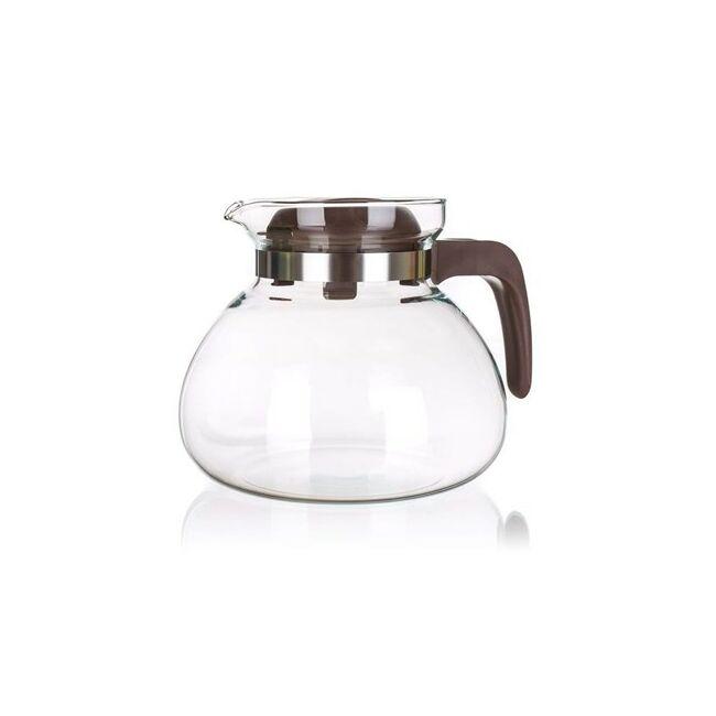 Üveg teás kancsó 1,7 liter