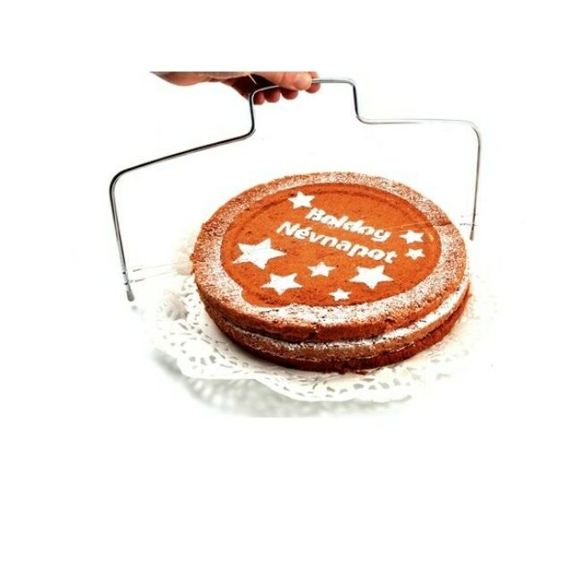 Tortaszeletelő drótos