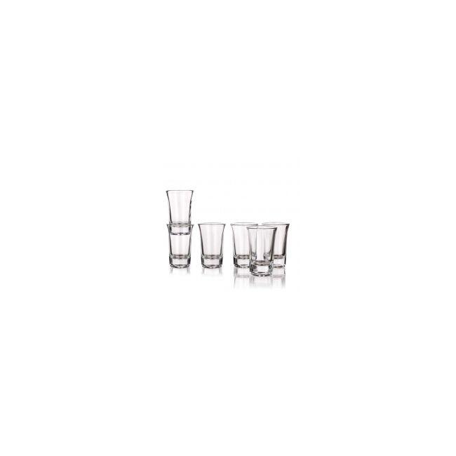 Pálinkás pohárkészlet 6 db (40ml) TORINO