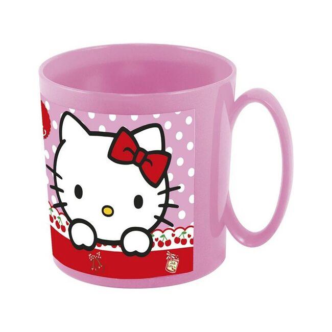 Műanyag bögre 350ml  Hello Kitty