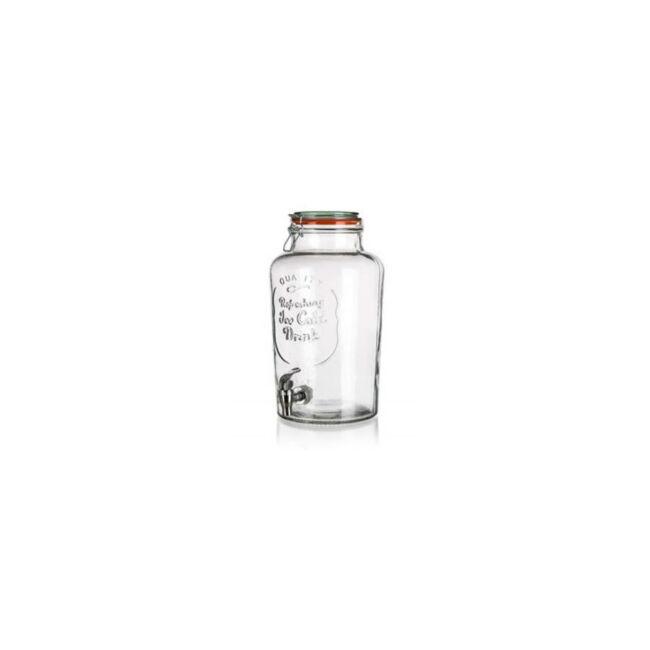 Csapos üveg italadagoló 7 literes