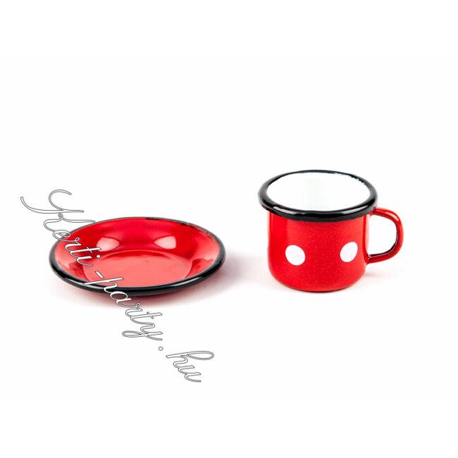 Kávés bögre + csésze alj