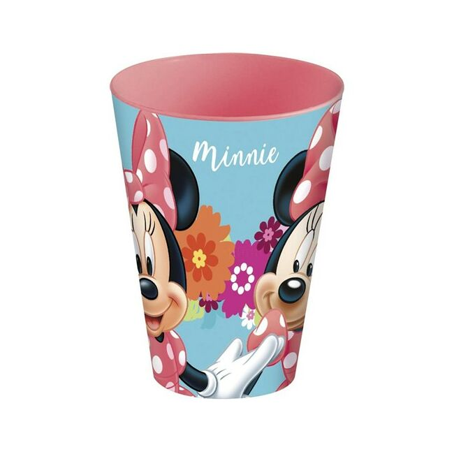 Műanyag pohár 430ml Minnie