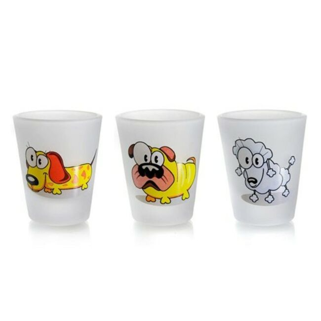 Tom&Jerry üvegpohárkészlet  3 darab