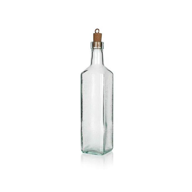 Eticat Üveg palack+dugó 550ml