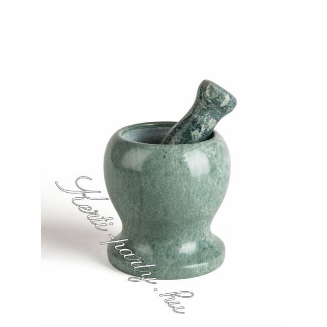 Zöld Márvány Mozsár 12 cm