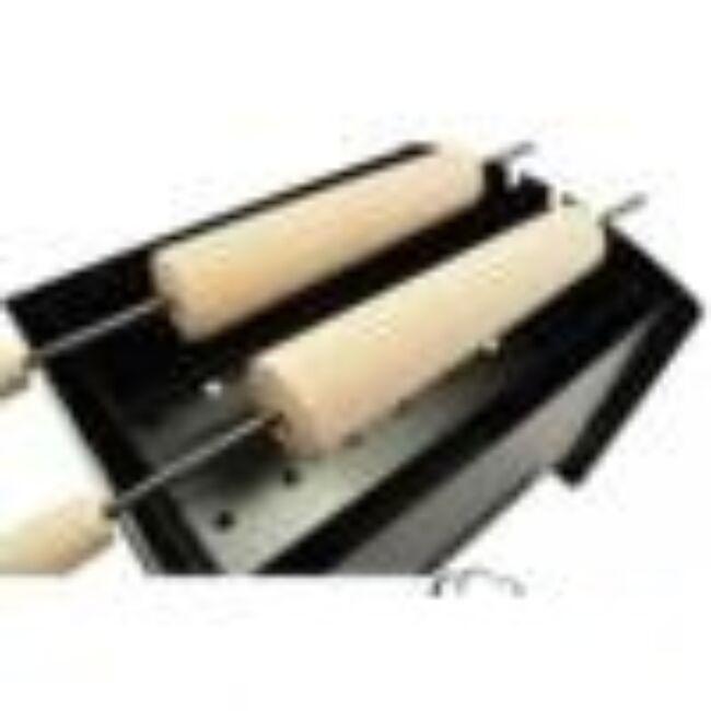 Kürtöskalács sütő készlet ( faszenes)