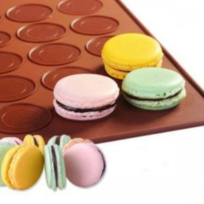 Macaron sütőlap 48 részes ( Lap)