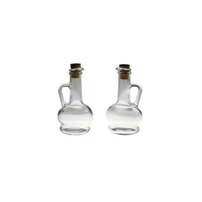Olaj/ecettartó üveg 260ml 2db