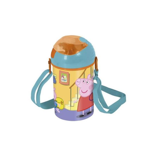 Peppa Pig Műanyag mintás ivókulacs