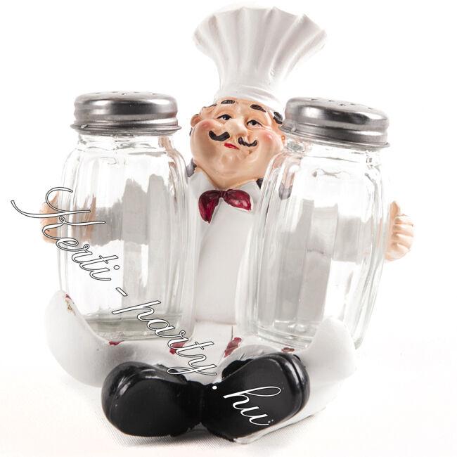 Szakács sószóró és borsszóró pár