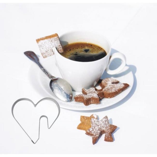 Tea szív süteménykiszúró