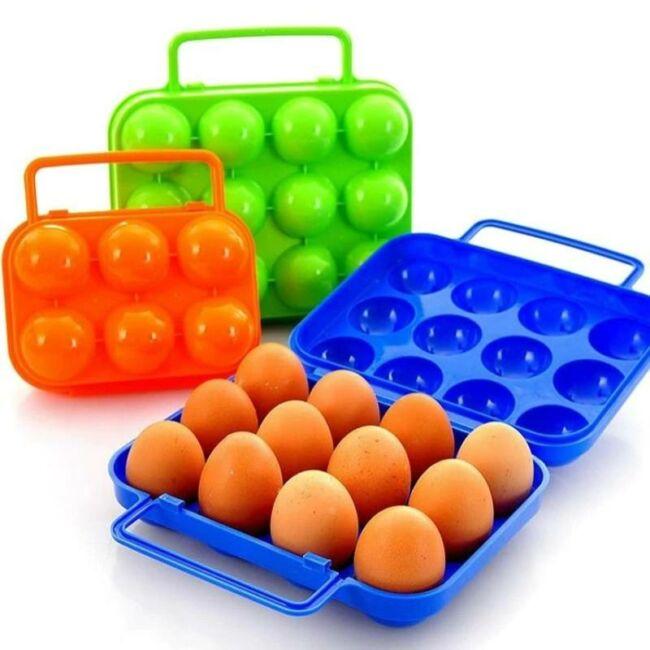 Táskás tojástartó 6 részes