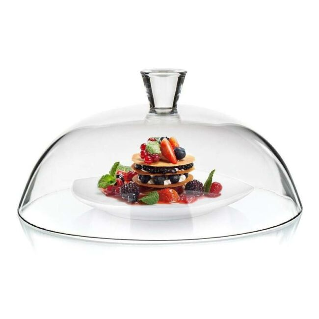 Üveg ételbúra 30 cm
