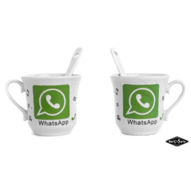 Whatsapp csésze készlet 4 darabos